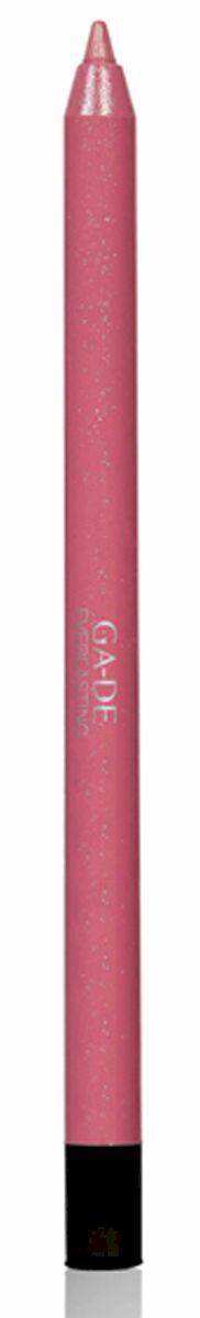 GA-DE Карандаш для губ Everlasting, тон № 86, 0,5 г002722Плотная силиконовая текстура. Матовые и глянцевые оттенки. Устойчивая формула. Аргановое масло защищает кожу губ и обеспечивает мягкое и комфортное нанесение. Силиконовый карандаш корректирует контур губ. Он проводит чуть матовую линию, заполняет собой морщинки и не дает помаде или блеску растекаться. Хорошо подходят для использования летом и во время отпуска, так как не будет растекаться под воздействием солнца и жары.