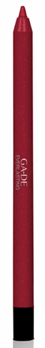 GA-DE Карандаш для губ Everlasting, тон № 92, 0,5 гSC-FM20101Плотная силиконовая текстура. Матовые и глянцевые оттенки. Устойчивая формула. Аргановое масло защищает кожу губ и обеспечивает мягкое и комфортное нанесение. Силиконовый карандаш корректирует контур губ. Он проводит чуть матовую линию, заполняет собой морщинки и не дает помаде или блеску растекаться. Хорошо подходят для использования летом и во время отпуска, так как не будет растекаться под воздействием солнца и жары.