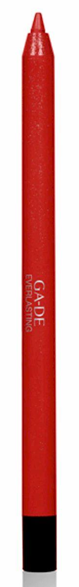 GA-DE Карандаш для губ Everlasting, тон № 93, 0,5 г57201Плотная силиконовая текстура. Матовые и глянцевые оттенки. Устойчивая формула. Аргановое масло защищает кожу губ и обеспечивает мягкое и комфортное нанесение. Силиконовый карандаш корректирует контур губ. Он проводит чуть матовую линию, заполняет собой морщинки и не дает помаде или блеску растекаться. Хорошо подходят для использования летом и во время отпуска, так как не будет растекаться под воздействием солнца и жары.