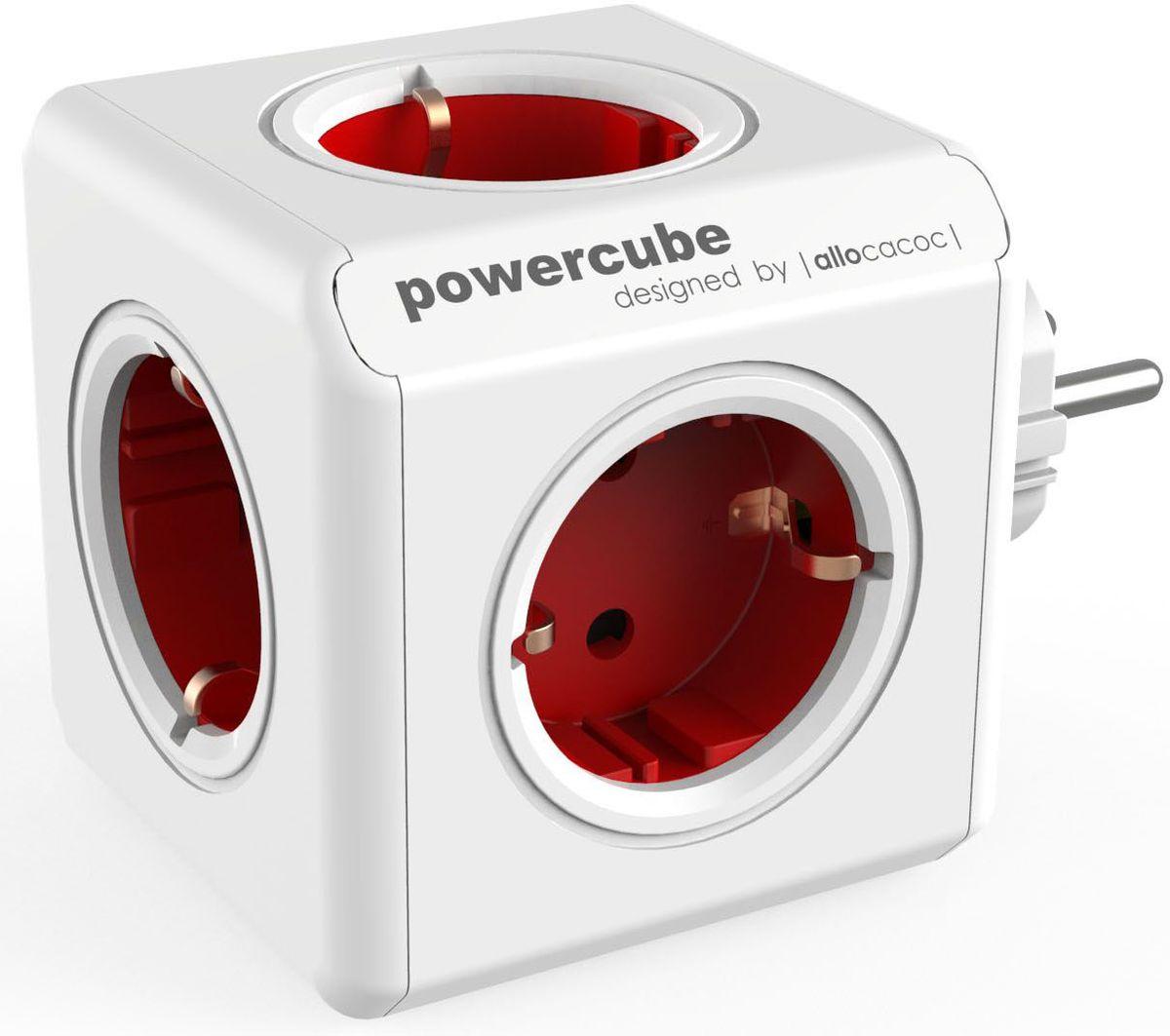 Allocacoc PowerCube Original, Red сетевой разветвитель1100RD/DEORPCЭто первоначальная концепция Allocacoc PowerCube Original, включающая 5 розеток питания. Благодаря конструкции PowerCube, адаптеры не блокируют друг друга. Находясь в офисе, дома, на совещании или еще где-нибудь, бывает трудно найти свободную розетку для зарядки ноутбука или мобильного телефона.PowerCube решил эту проблему: количество розеток можно расширить, что позволит монтировать индивидуальный источник питания в пределах досягаемости.