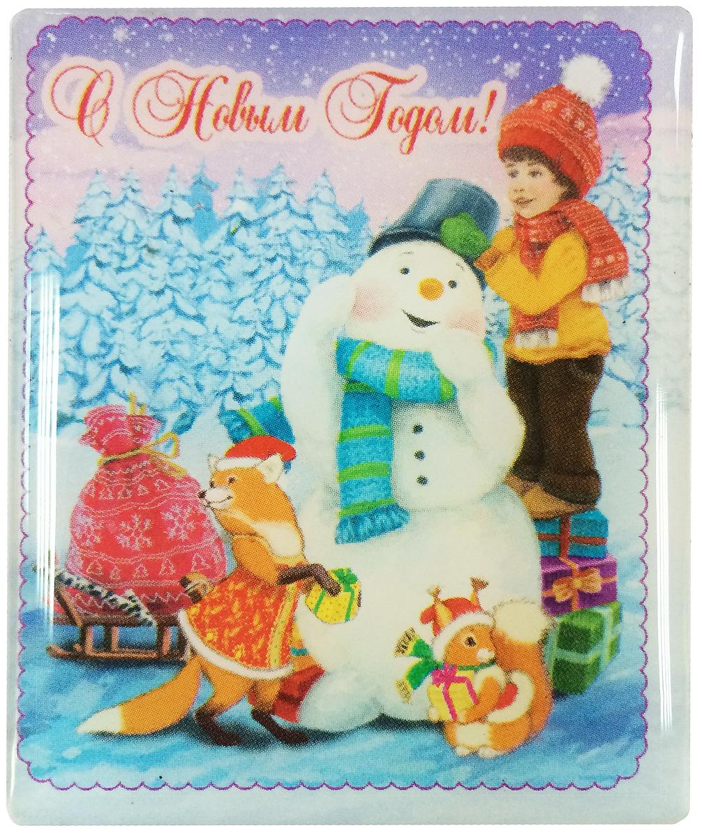 Магнит декоративный Magic Time Мальчик и снеговик, 6 х 5 см. 3837438374Магнит Magic Time Мальчик и снеговик, выполненный из агломерированного феррита, прекрасно подойдет в качестве сувенира к Новому году или станет приятным презентом в обычный день. Магнит - одно из самых простых, недорогих и при этом оригинальных украшений интерьера. Он поможет вам украсить не только холодильник, но и любую другую магнитную поверхность. Материал: агломерированный феррит.
