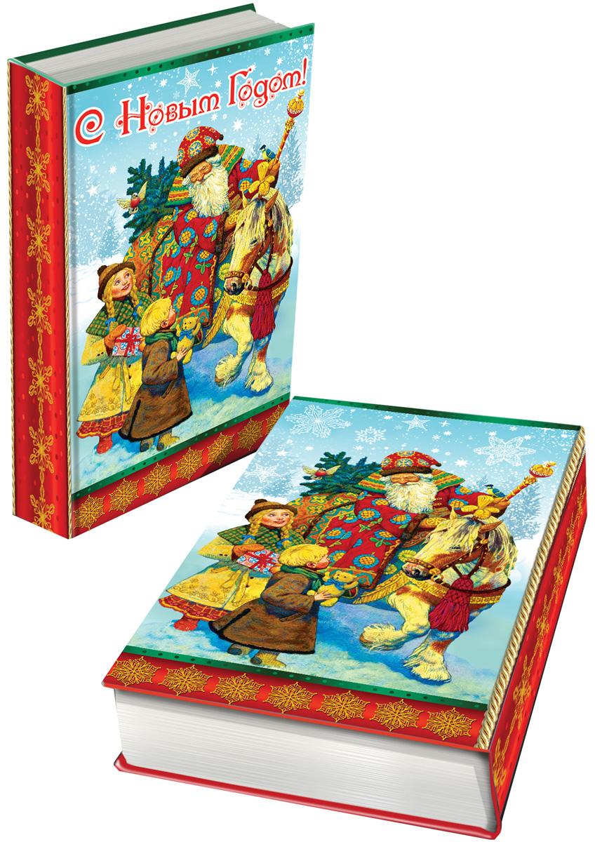 Шкатулка декоративная Magic Time Дед Мороз и дети, 17 х 11 х 5 см. 4171741717Яркая декоративная шкатулка Magic Time Дед Мороз и дети, выполненная из МДФ, не оставит равнодушным ни одного любителя оригинальных вещей. Изделие украшено оригинальном рисунком и закрывается на магнит. Такая шкатулка украсит интерьер вашей комнаты и станет не только декоративным, но и практичным аксессуаром - ее можно использовать для хранения украшений и мелочей.