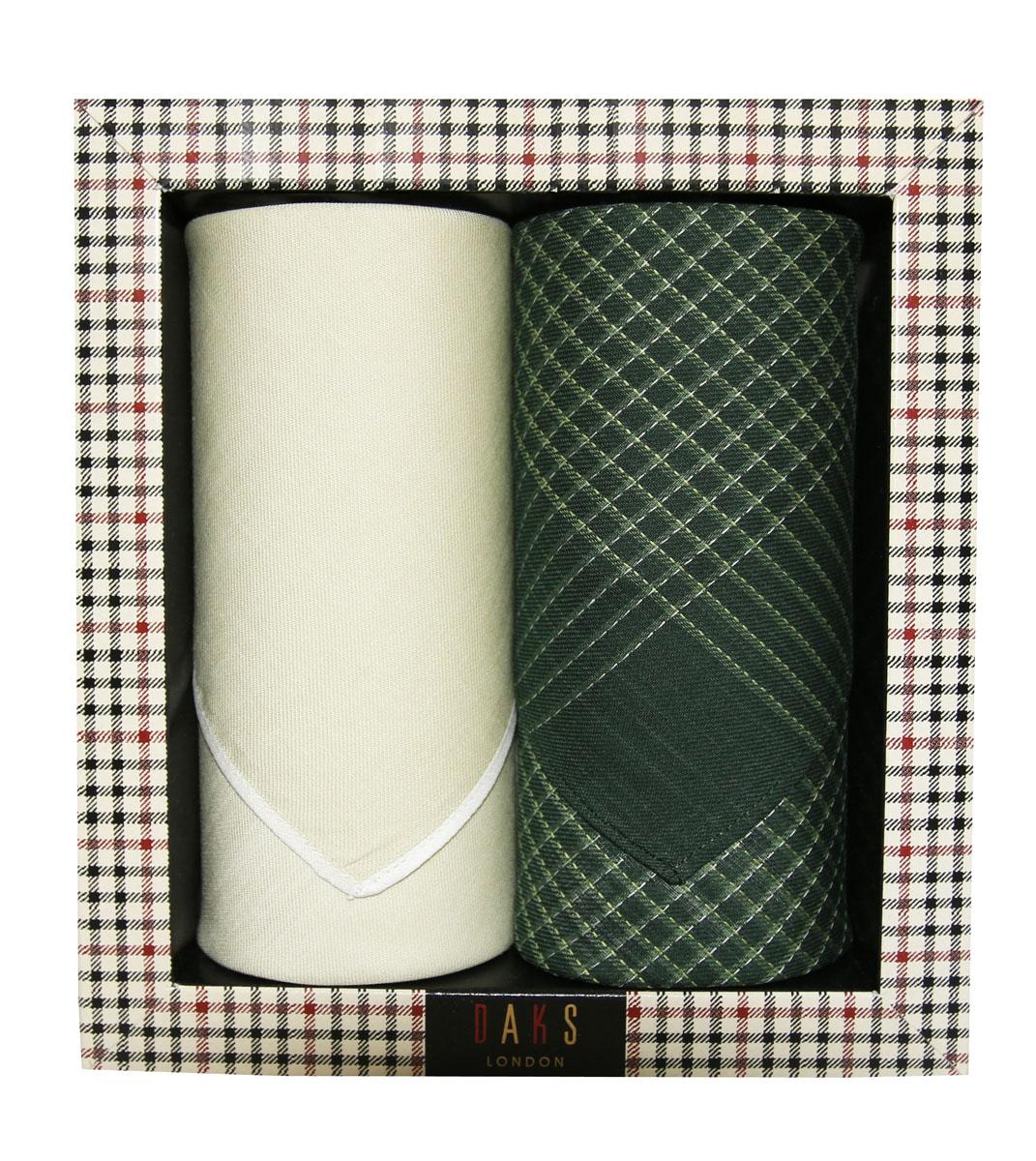 Платок носовой мужской Zlata Korunka, цвет: бежевый, темно-зеленый. 60006-1. Размер 43 х 43 см, 2 шт39864|Серьги с подвескамиНосовой платок Zlata Korunka изготовлен из высококачественного натурального хлопка, благодаря чему приятен в использовании, хорошо стирается, не садится и отлично впитывает влагу. Практичный носовой платок будет незаменим в повседневной жизни любого современного человека. Такой платок послужит стильным аксессуаром и подчеркнет ваше превосходное чувство вкуса. В комплекте 2 платка.