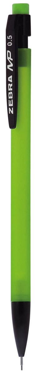 Zebra Карандаш механический MP цвет корпуса салатовый72523WDМеханический карандаш Zebra MP идеален для письма и черчения.Корпус карандаша круглой формы выполнен из пластика и дополнен ластиком. Мягкое комфортное письмо и тонкие линии при написании принесут вам максимум удовольствия. Порадуйте друзей и знакомых, оказав им столь стильный знак внимания.