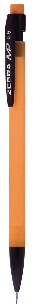 Zebra Карандаш механический MP цвет корпуса оранжевый317 259060Механический карандаш Zebra MP идеален для письма и черчения. Корпус карандаша круглой формы выполнен из пластика и дополнен ластиком. Мягкое комфортное письмо и тонкие линии при написании принесут вам максимум удовольствия. Порадуйте друзей и знакомых, оказав им столь стильный знак внимания.