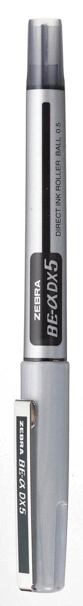 Zebra Ручка-роллер BE-& DX5 цвет чернил черный829047Ручка-роллер Zebra BE-& DX5, как и другие роллеры серии Zeb-Roller, может писать вверх ногами. Снабжена наконечником иглообразного типа из нержавеющей стали и стальным зажимом. Серию ручек-роллеров Zeb-Roller отличает разработанная компанией Zebra система прямой подачи чернил (Direct Ink System), позволяющая писать очень быстро и практически без нажима. Идеальная линия письма до последней капли чернил, запас которых виден в полупрозрачном окошке пластикового корпуса. Необычайно большой запас чернил усовершенствованной формулы эквивалентен нескольким сменным стержням стандартной шариковой ручки.