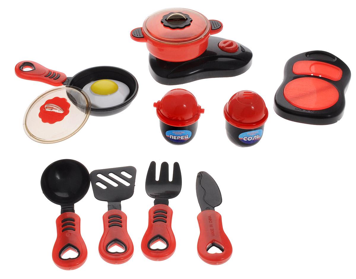 ABtoys Набор детской посуды Помогаю маме 14 предметов