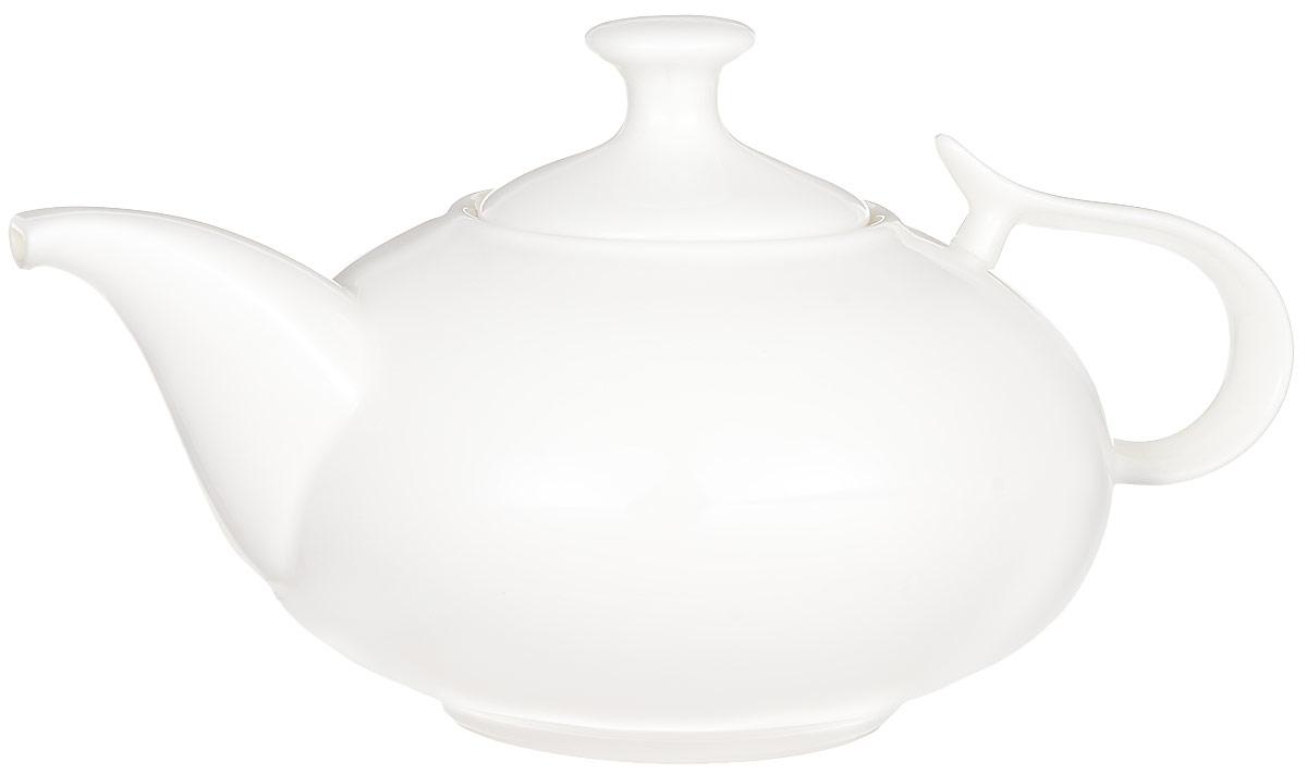 Чайник заварочный Wilmax, 1,15 л. WL-994000WL-994000 / 1CЗаварочный чайник Wilmax изготовлен из высококачественного фарфора. Глазурованное покрытие обеспечивает легкую очистку. Изделие прекрасно подходит для заваривания вкусного и ароматного чая, а также травяных настоев. Отверстия в основании носика препятствует попаданию чаинок в чашку. Оригинальный дизайн сделает чайник настоящим украшением стола. Он удобен в использовании и понравится каждому. Можно мыть в посудомоечной машине и использовать в микроволновой печи. Диаметр чайника (по верхнему краю): 7,5 см. Высота чайника (без учета крышки): 10 см. Высота чайника (с учетом крышки): 13,5 см.