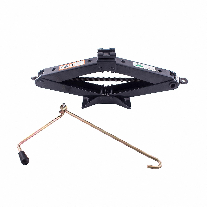 Домкрат ромбический Skyway, механический, 2 т. S01801005S01801005Механический ромбический домкрат Skyway предназначен для поднятия грузов. Домкрат отличается компактностью конструкции, простотой обслуживания и надежностью в эксплуатации. Домкрат имеет удобные ручки для плавного равномерного подъема при небольших усилиях. Полностью металлическая конструкция узлов и агрегатов обеспечивает высокую надежность и отказоустойчивость. В качестве несущих элементов используются четыре шарнирно-соединительных рычага, образующих ромб. Подъем груза происходит за счет изменения углов между рычагами, что приводит к увеличению или уменьшению расстояния между подхватом и опорной площадкой. Грузоподъемность: 2 т. Высота подъема: 98-410 мм.