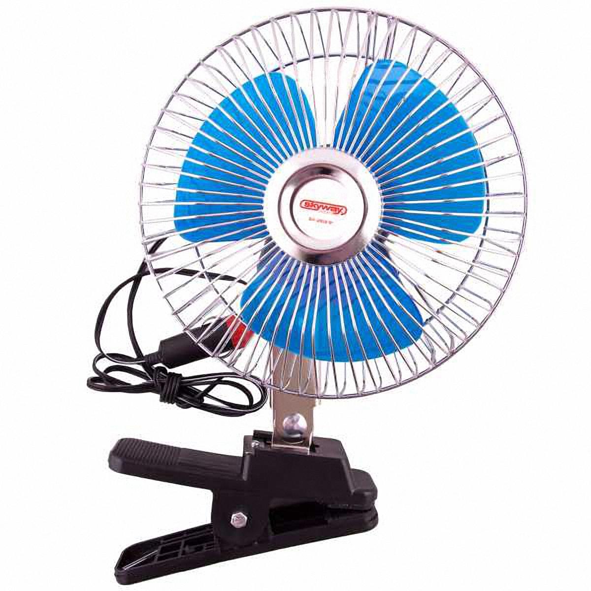 Skyway Вентилятор . S01901008SC-FD421005Способ крепления: клипса.Диаметр: 6 дюймов (1 дюйм = 2,54 см).Необходимое напряжение: 24 V.