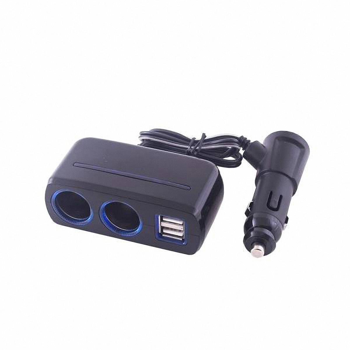 Разветвитель прикуривателя Skyway, 2 выхода + 3 USB. S02301020S02301020Разветвитель прикуривателя Skyway позволяет подключать устройства, имеющие стандартный разъем под прикуриватель, плюс устройства, имеющие разъем USB (блоки питания для ноутбука, кпк, сотового телефона, GPS-навигатора, антирадара, пылесоса, холодильника, различные зарядные устройства и многое другое). Устройство вращается на 180°, вверх и вниз. Устройство используется при мощности 7А. Общая мощность 80 Ватт. Предохранитель 5А. Потребляемая мощность 12-24 В. Количество гнезд: 2. Количество USB-портов: 3.