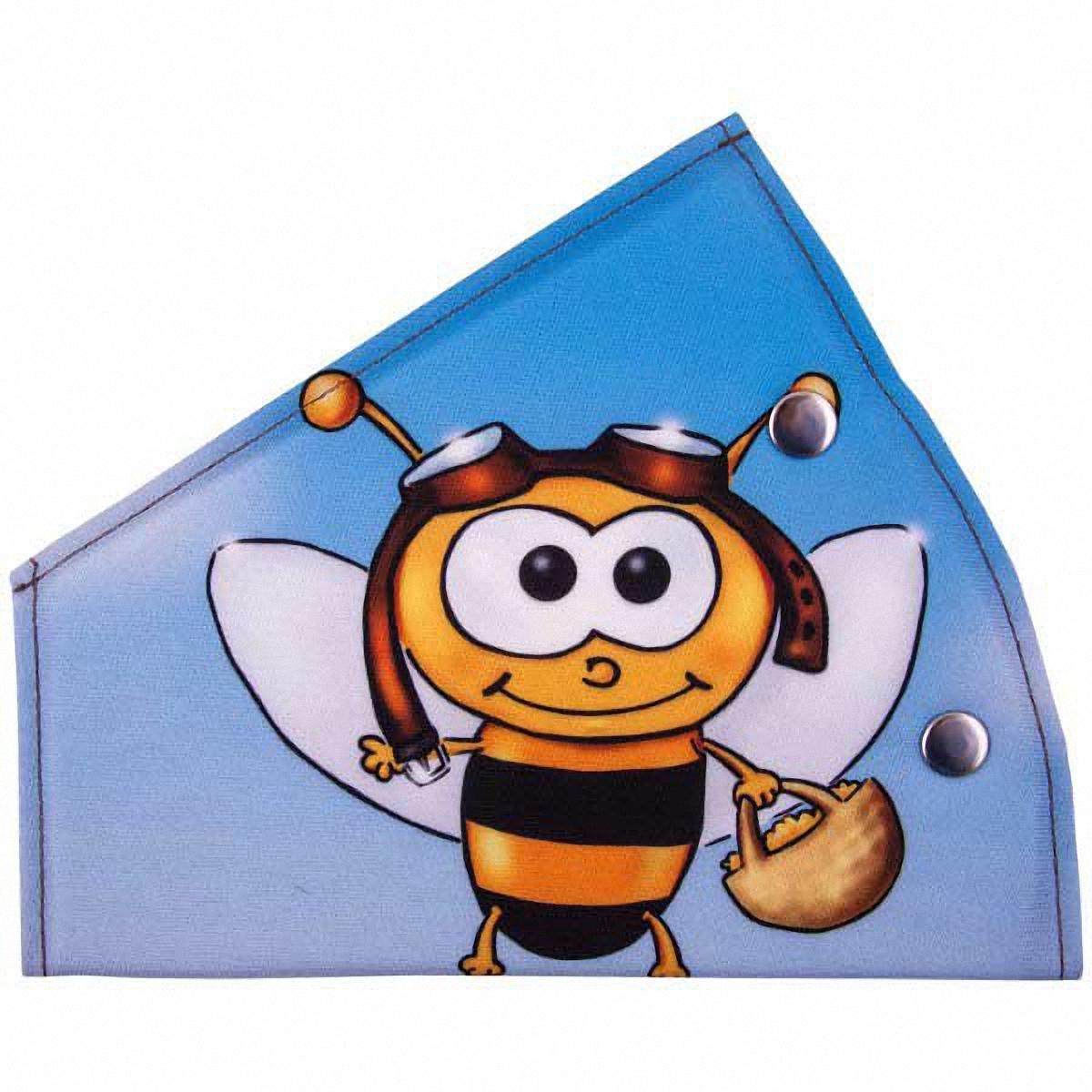 Адаптер ремня безопасности Skyway ПчелаS04007015Детский адаптер ремня безопасности, выполненный из полиэстера, удерживает ремень безопасности в положении, удобном для человека небольшого роста. Удерживающее устройство можно установить на любой трёхточечный ремень безопасности. При перевозке ребёнка до 12 лет адаптер ремня безопасности разрешено устанавливать только на ремни заднего сиденья. Тип крепления: кнопки.