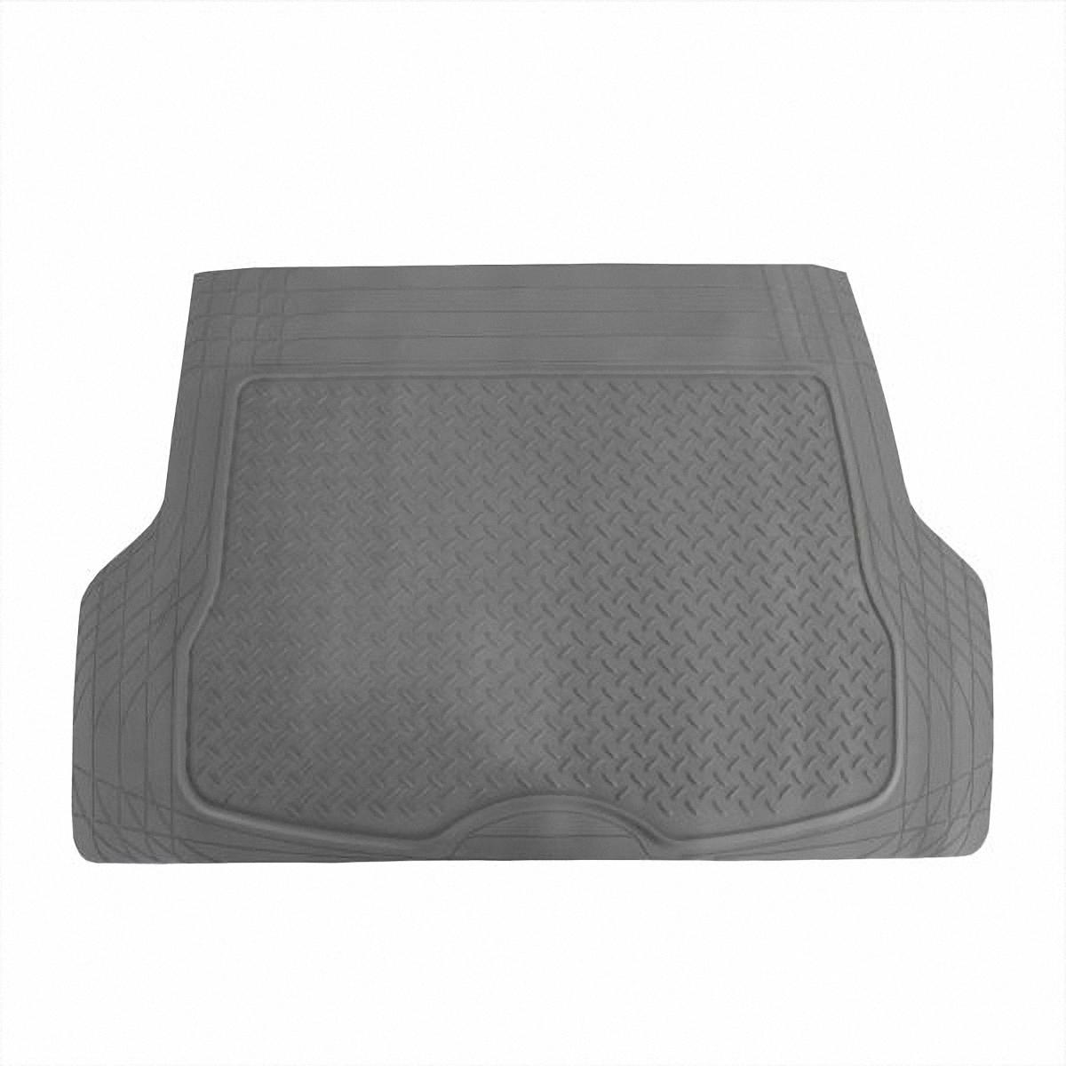 Коврик в салон автомобиля Skyway, в багажник, цвет: серый, 80 х 126,5 смSC-FD421005Коврик сохраняет эластичность даже при экстремально низких и высоких температурах (от -50°С до +50°С). Обладает повышенной устойчивостью к износу и агрессивным средам, таким как антигололёдные реагенты, масло и топливо. Усовершенствованная конструкция изделия обеспечивает плотное прилегание и надёжную фиксацию коврика на полу автомобиля.Размер: 80 х 126,5 см.