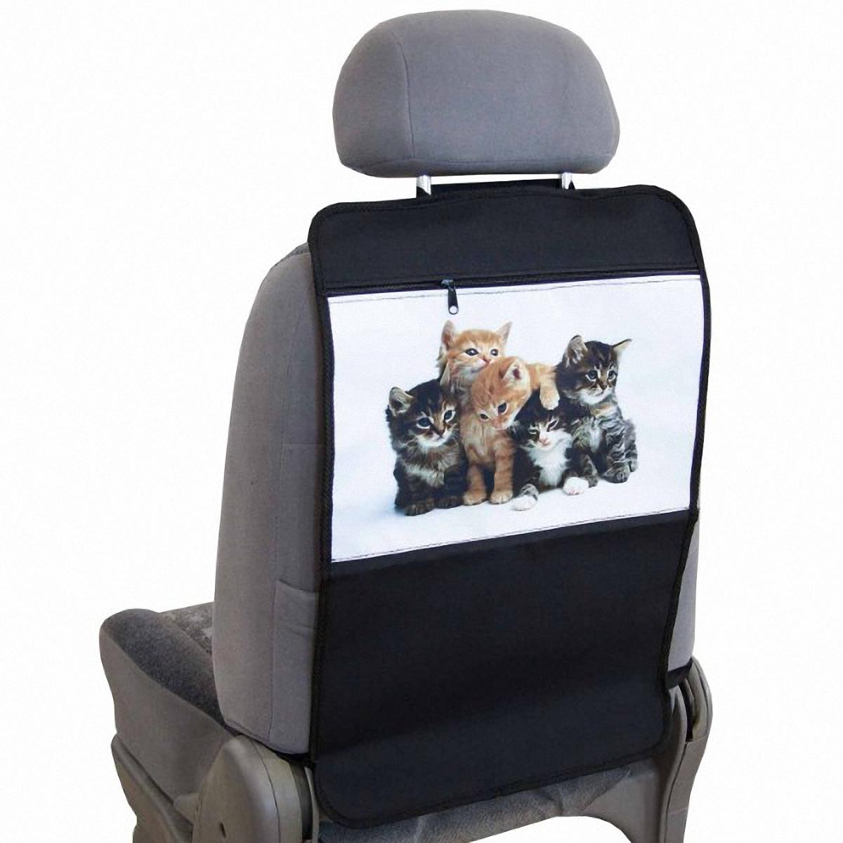 Накидка-органайзер защитная Skyway Котята, на спинку сидения, 37 х 55 см. S06101004S06101004Защитная накидка-органайзер Skyway Котята изготовлена из из материалов, отличающихся высокими эксплуатационными характеристиками, благодаря чему в течение длительного времени сохраняют презентабельный внешний вид. Ткань накидки устойчива к механическому воздействию, а также является достаточно прочной и плотной для того, чтобы не пропустить жидкости и другие источники загрязнений к обивке сидений. А рисунок в виде котят порадует вашего ребенка. Размер изделия: 37 х 55 см.