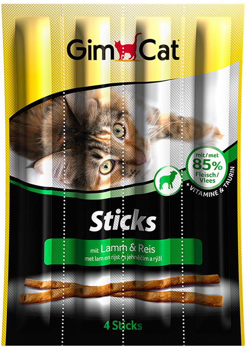 Лакомство для кошек Gimcat, палочки с ягненком и рисом, 4 шт0120710Лакомство для кошек Gimcat порадует своим уникальным вкусом даже самую избалованную кошку. Лакомые палочки с ягненком и рисом поддерживают здоровый процесс роста вашей кошки и способствуют ее великолепному самочувствию.Состав: мясо ягненка, рис.Аналитический состав: белки - 34%, жиры - 20%, клетчатка - 2%, зола - 5,5%, влажность - 27%.Добавки на 1 кг: витамин D3 - 500 мг, витамин E - 5 мг, таурин - 1 мг. С антиоксидантами и консервантами.Товар сертифицирован.