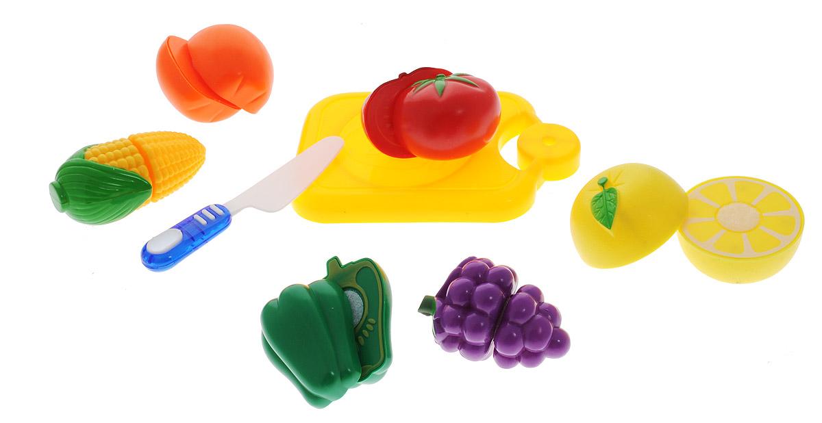 ABtoys Игрушечный набор продуктов 8 предметов PT-00412