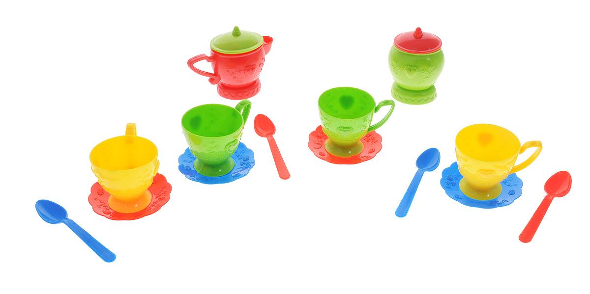 ABtoys Игрушечный кухонный набор 14 предметов PT-00410