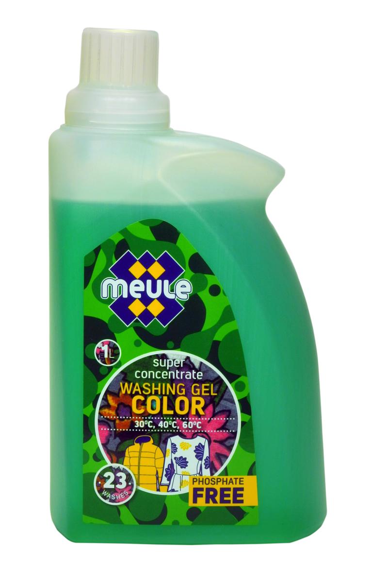 Гель для стирки Meule, концентрат, для цветного белья и пуховиков, 1 л7290701369602Meule Gel Color Green 1 л(23 стирки)- Концентрированный гель для стирки цветного белья и пуховиков. Сохраняет и поддерживает яркость первоначального цвета изделий. Препятствует «перетеканию» цвета, идеальное решение для тканей со смешанной цветовой гаммойОбладает высокой моющей способностью, эффективно удаляет пятна и загрязнения, сохраняя структуру ткани. Препятствует образованию ворсистости (катышков) на одежде. Рекомендуется использовать при температуре 30 - 60С. Предотвращает образование накипи. Полностью выполаскивается.