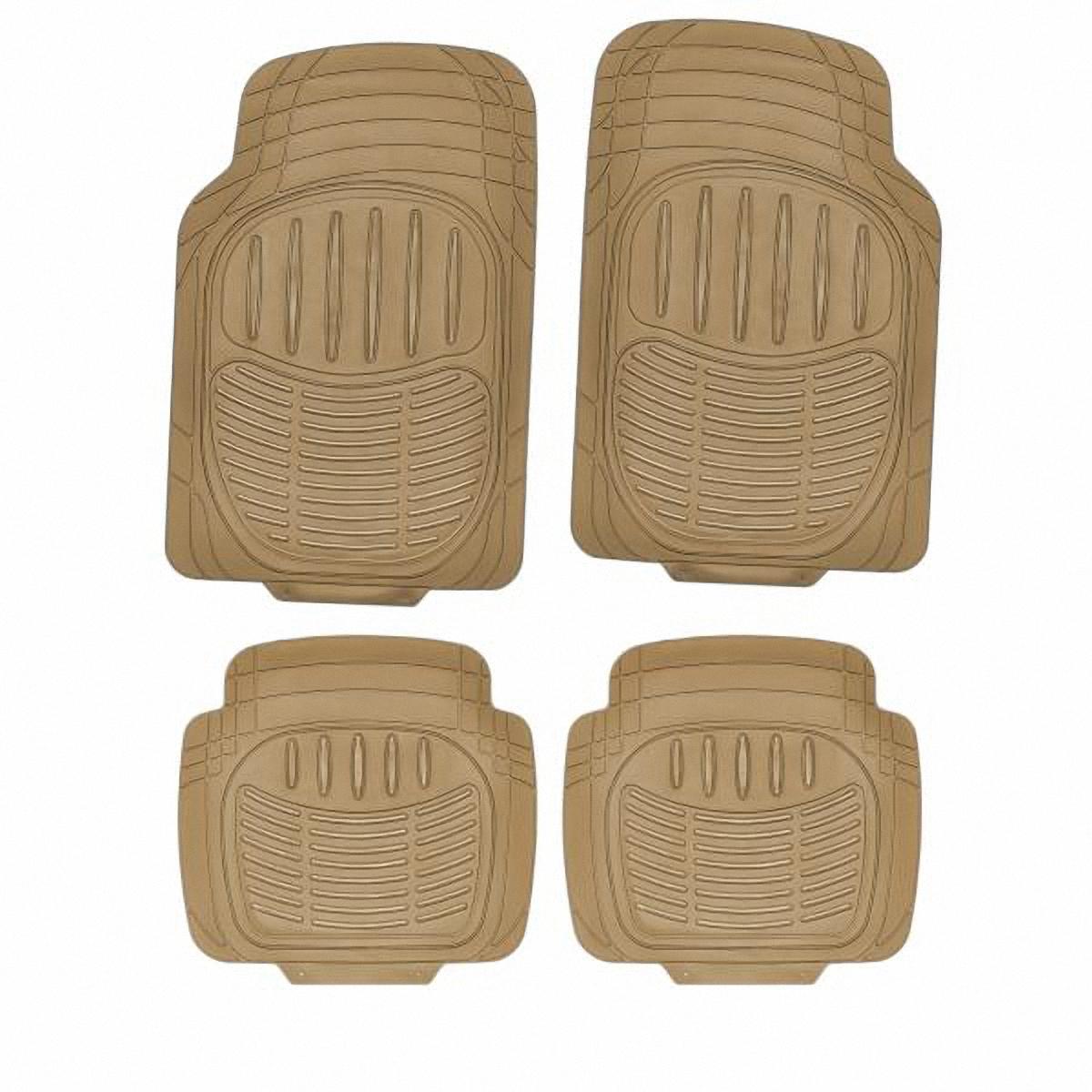 Комплект ковриков в салон Skyway. TS10014P-4 BE/S01702024SC-FD421005п:72*49см,з:44*48.5см