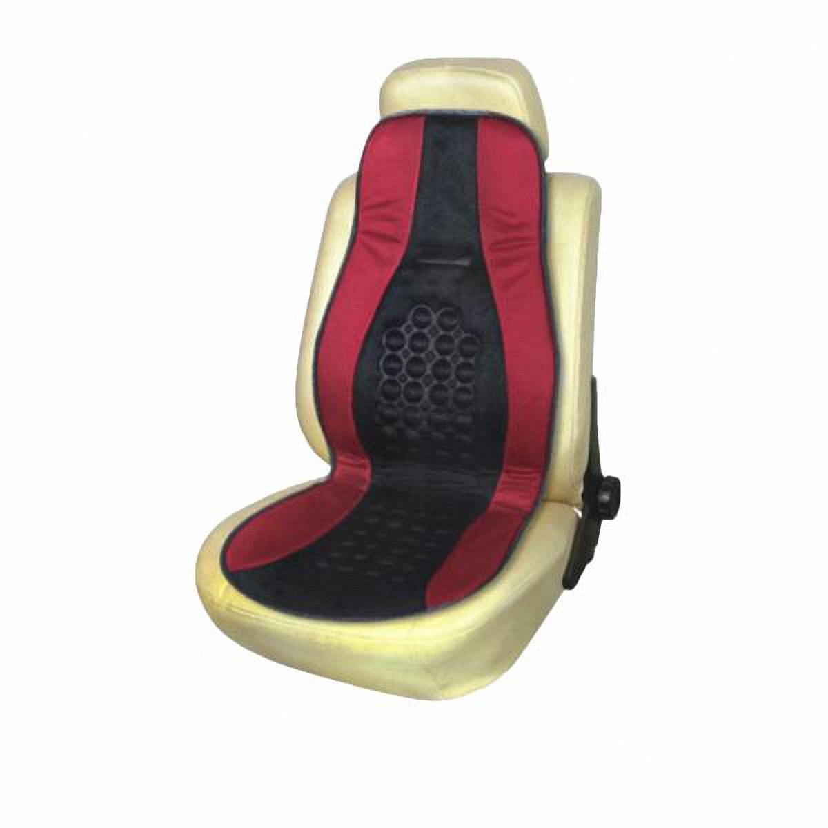 Накидка на сиденье Skyway. S01302002SW-102098 BK/RD S /S01302002Накидка на сиденье Skyway – это изящное сочетание стиля и качества. Выполненные из особого материала они расслабляют мышцы спины при поездке, благотворно влияя на позвоночник. Так просто получить ощущение легкого массажа. С ними салон становится уютнее, а сами сидения – удобнее.