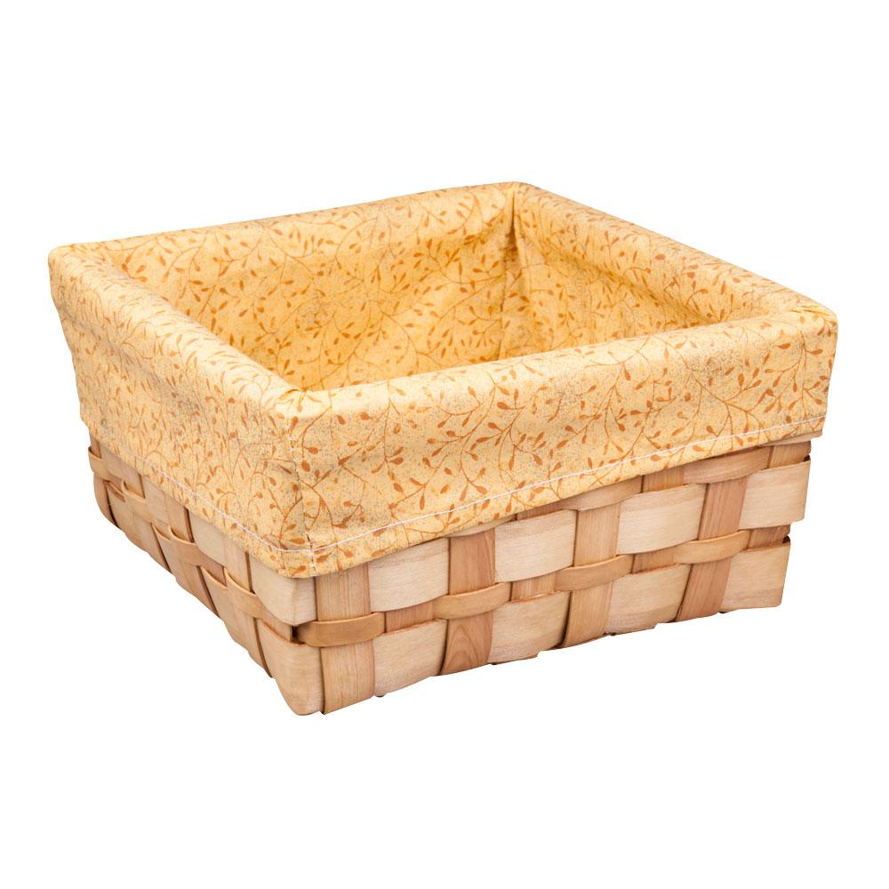 Корзина плетеная Miolla, 30 х 30 х 15 см. QL400449-LQL400449-LЛучшее решение для хранения вещей - корзина для хранения Miolla. Экономьте полезное пространство своего дома, уберите ненужные вещи в удобную корзину и используйте ее для хранения дорогих сердцу вещей, которые нужно сберечь в целости и сохранности.