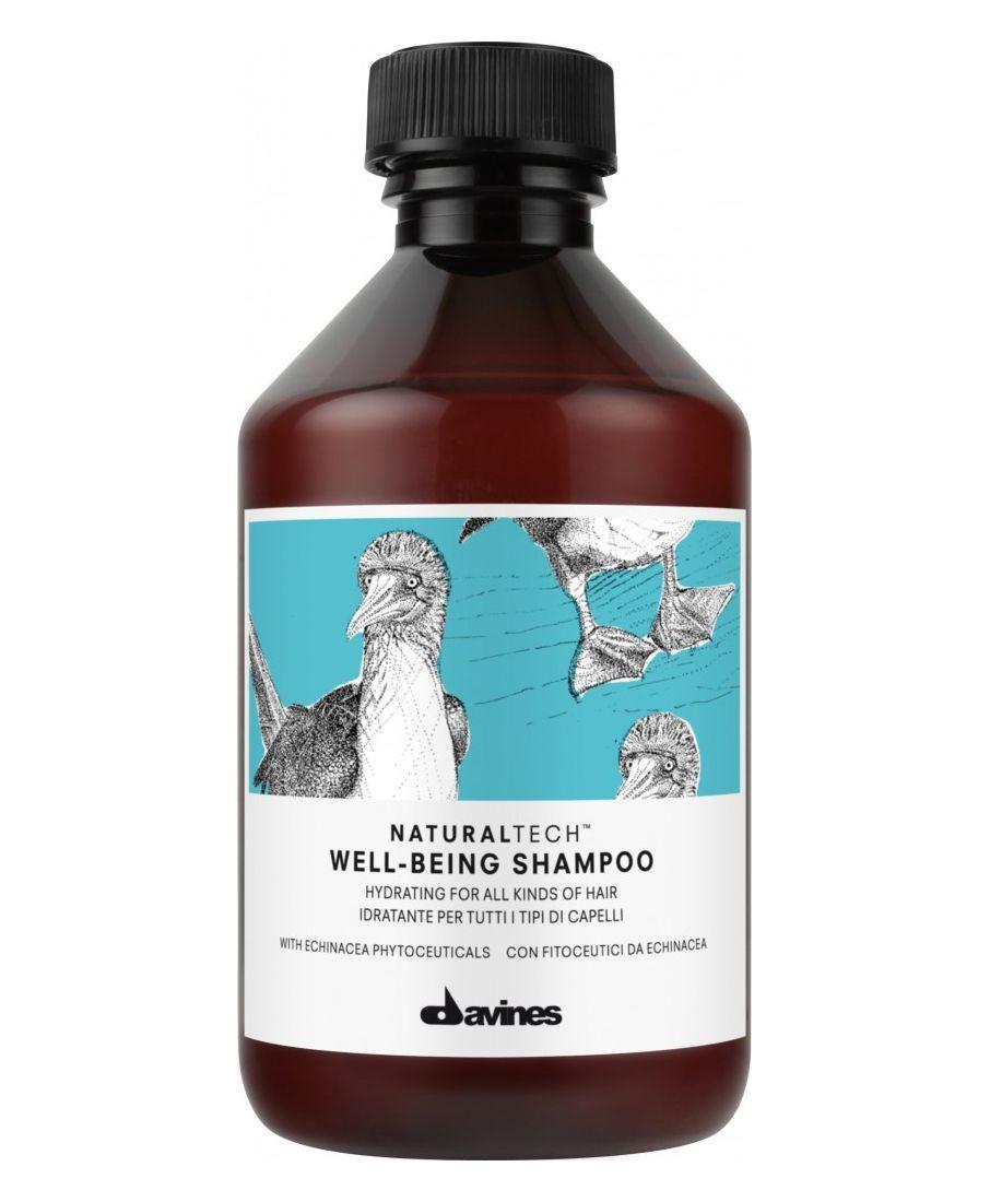 Davines Увлажняющий шампунь для всех типов волос New Natural Tech Well-Being Shampoo, 250 мл увлажняющий мусс davines more inside авторские продукты для стайлинга 250 мл