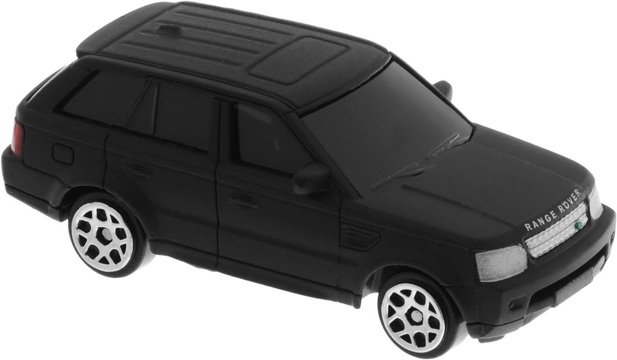 Uni-Fortune Toys Модель автомобиля Land Rover Range Rover Sport цвет черный матовый