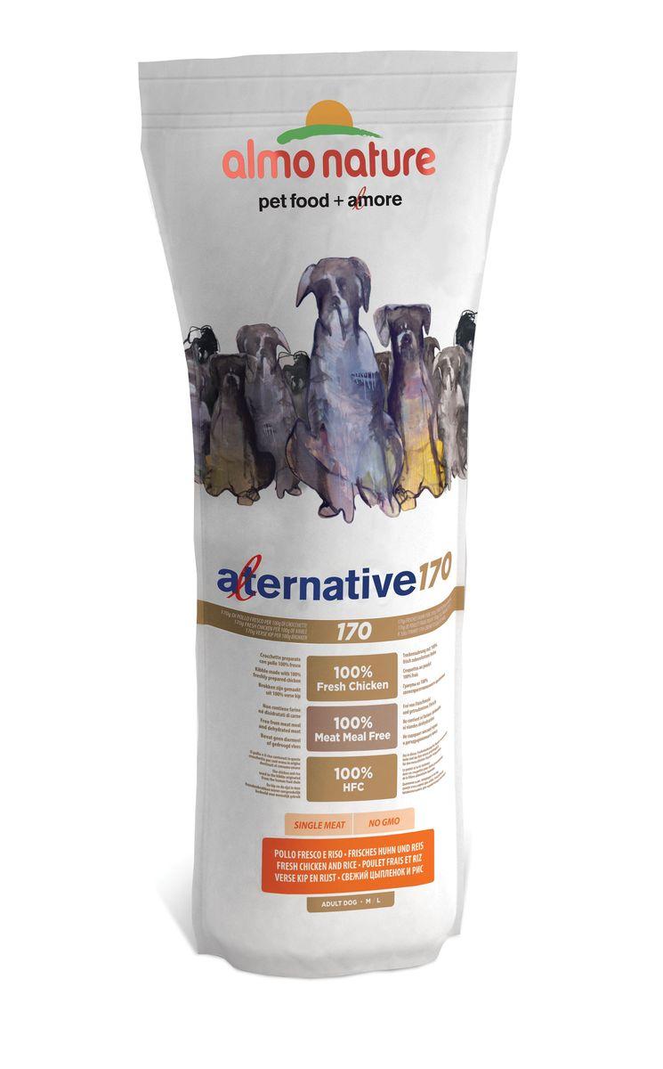 Корм сухой Almo Nature Alternative для собак средних и крупных пород, с цыпленком и рисом, 9,5 кг0120710Полнорационный корм Almo Nature Alternative рекомендован для собак средних и крупных пород. Монобелковый корм не содержит мясной муки и дегидрированного мяса. Рекомендован к употреблению собакам с чувствительным пищеварением. Не содержит глютена, ГМО, химических консервантов, красителей и усилителей вкуса.Состав: свежее мясо курицы - 50%, рис - 45%, дрожжи, свекольный жом, картофельный протеин, жир животного происхождения, минералы, гидролизированный белок ягненка, цельные семена льна, лососевый жир, маннанолигосахариды - 0,1%, инулин из цикория - источник ФОС (фруктоолигосахариды) - 0,1%. Витамины и микроэлементы: витамин A - 22000 IU/кг, витамин D3 - 1400 IU/кг, витамин E - 300 мг/ кг, витамин B1 - 12 мг/кг, витамин B2 - 14 мг/кг, кальций D-пантотенат - 20 мг/кг, витамин B6 - 12 мг/ кг, витамин B12 - 0,15 мг/кг, холин хлорид - 3395 мг/кг, ниацин - 25 мг/кг, биотин - 0,5 мг/кг, таурин - 1000 мг/кг, витамин K - 1 мг/кг, фолиевая кислота - 1 мг/кг, L-карнитин - 50 мг/кг, сульфат меди пентагидрат - 32 мг/кг, двухвалентной меди хелат аминокислот гидрат - 33 мг/кг,моногидрат сульфата цинка - 222 мг/кг, цинка аминокислотный хелат гидрат - 267 мг/кг, моногидрат сульфата марганца - 20,65 мг/кг, органический селен - 80,44 мг/кг. Пищевая ценность: белки - 24%, клетчатка - 2,9%, жиры - 13%, зола - 7%, кальций - 1,2%, фосфор - 0,8%, Омега 3 - 0,45%, Омега 6 - 1,1%, влага - 9,5%. Калорийность: 3500 ккал/кг. Товар сертефицирован.