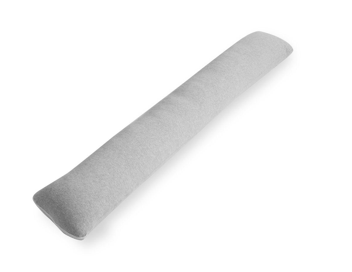 Наволочка для подушки Легкие сны Форма I, цвет: серый меланж. NIT-180/110503Наволочка для подушки форма I трикотаж