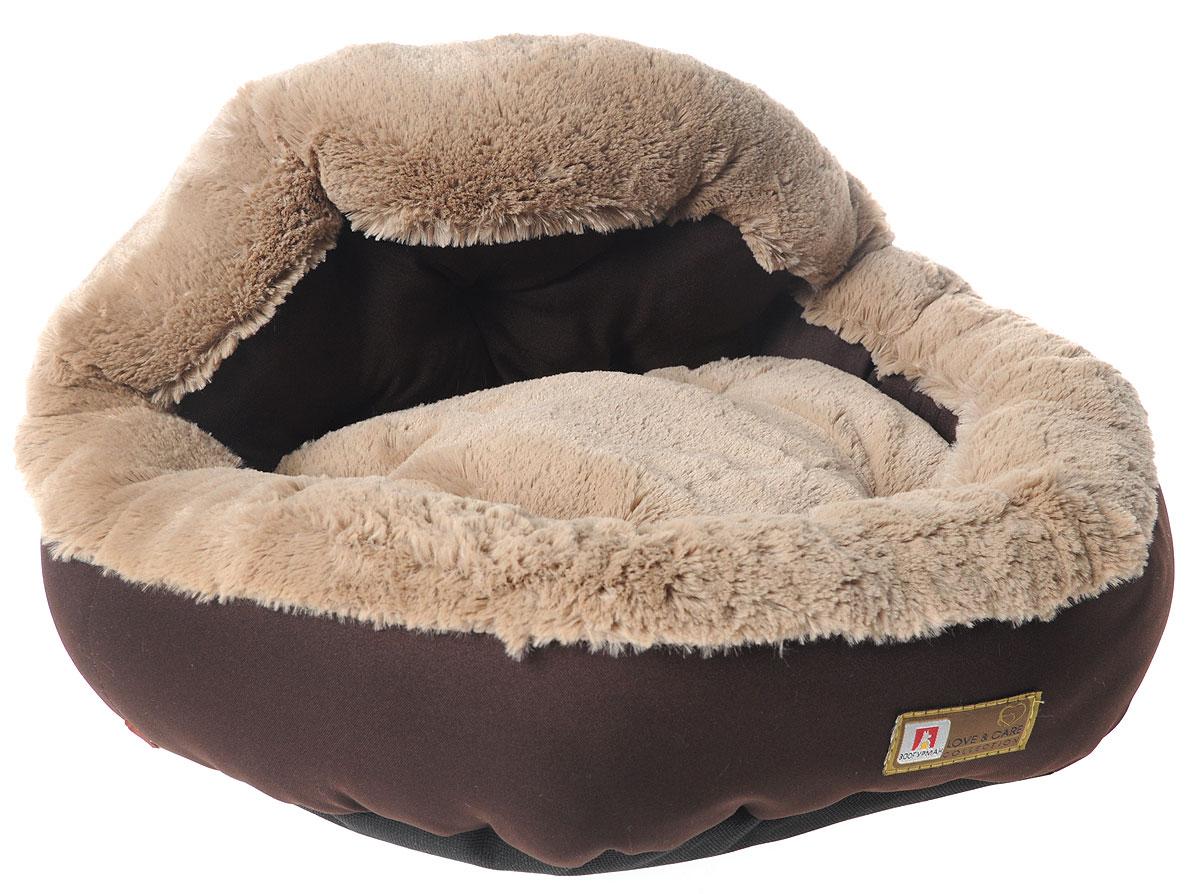 Лежак для собак и кошек Зоогурман Президент, цвет: темный шоколад, 45 х 45 х 20 см2199_темный шоколадМягкий и уютный лежак для кошек и собак Зоогурман Президент обязательно понравится вашему питомцу. Лежак выполнен из нежного, приятного материала. Внутри - мягкий наполнитель, который не теряет своей формы долгое время. Внутри лежака съемная меховая подушка. Мягкий, приятный и теплый лежак обеспечит вашему любимцу уют и комфорт. Подходит как для кошек, так и для собак. За изделием легко ухаживать, можно стирать вручную или в стиральной машине при температуре 40°С. Материал бортиков: микроволоконная шерстяная ткань. Материал спинки и матрасика: искусственный мех. Наполнитель: гипоаллергенное синтетическое волокно.