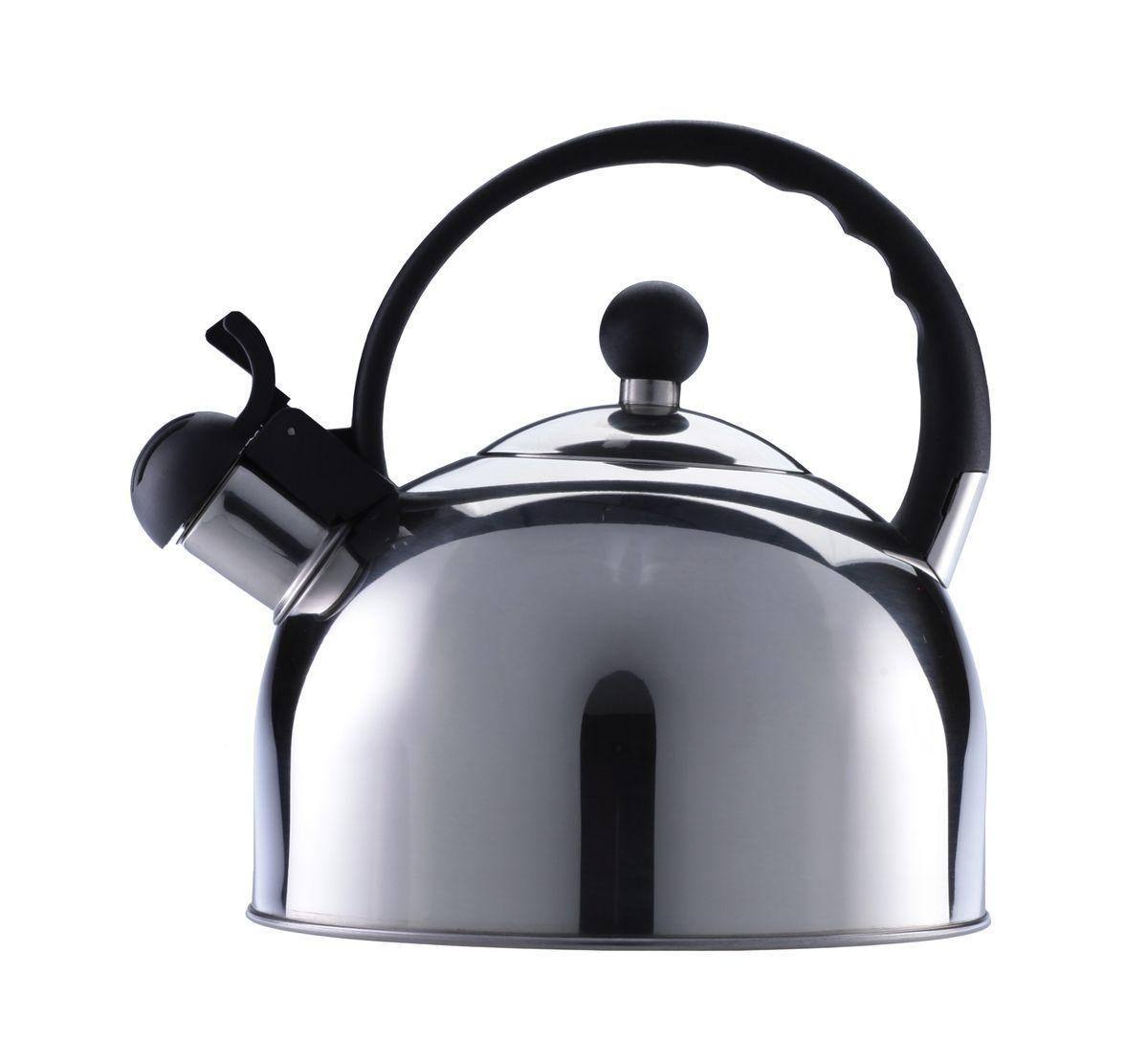Чайник Walmer, 2,5 лW11000318Никто не расскажет об истинно британском качестве лучше, чем Walmer! Практичный чайник, изготовленный из нержавеющей стали, снабженный термоизолированной ручкой из бакелита и свистком, станет вашим верным помощником – сообщит о закипании и позволит безопасно налить кипяток. Вскипятить 2,5 литра воды буквально за несколько минут? С чайником от Walmer это возможно! Он оборудован трехслойным дном: использование в нем алюминиевого слоя позволяет максимально быстро нагревать весь объем содержимого. Чайник выполнен в элегантном, минималистичном стиле – холодный блеск нержавеющей стали отлично гармонирует с любой цветовой палитрой посуды на современной кухне. Свисток чайника одновременно выполняет и защитную функцию, закрывая носик и блокируя путь брызгам воды при закипании – оборудованный предохранительной накладкой из бакелита, он никогда не станет причиной ожога. Представленный чайник от Walmer подходит для любых типов плит, включая ...