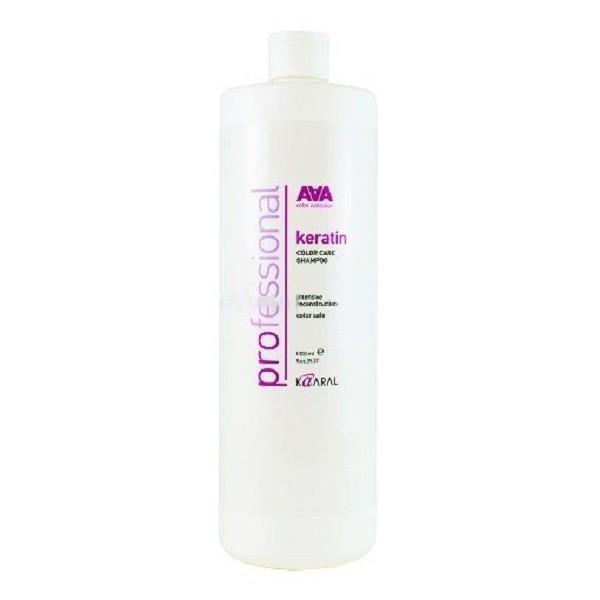 Kaaral Кератиновый шампунь для окрашенных и химически обработанных волос AAA Keratin Color Care Shampoo, 1000 мл