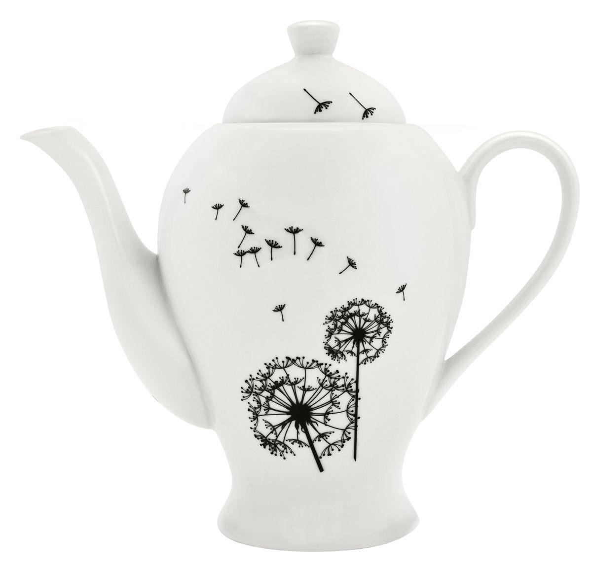 Чайник заварочный Esprado Viente, 1,29 лVNTL12BE306Чайник заварочный Esprado Viente изготовлен из высококачественного фарфора и декорирован очаровательным цветочным рисунком. Такой дизайн, несомненно, придется по вкусу и любителям классики, и тем кто ценит красоту и изящество. Такой чайник украсит ваш кухонный стол, а также станет замечательным подарком к любому празднику. Можно использовать в микроволновой печи и мыть в посудомоечной машине.