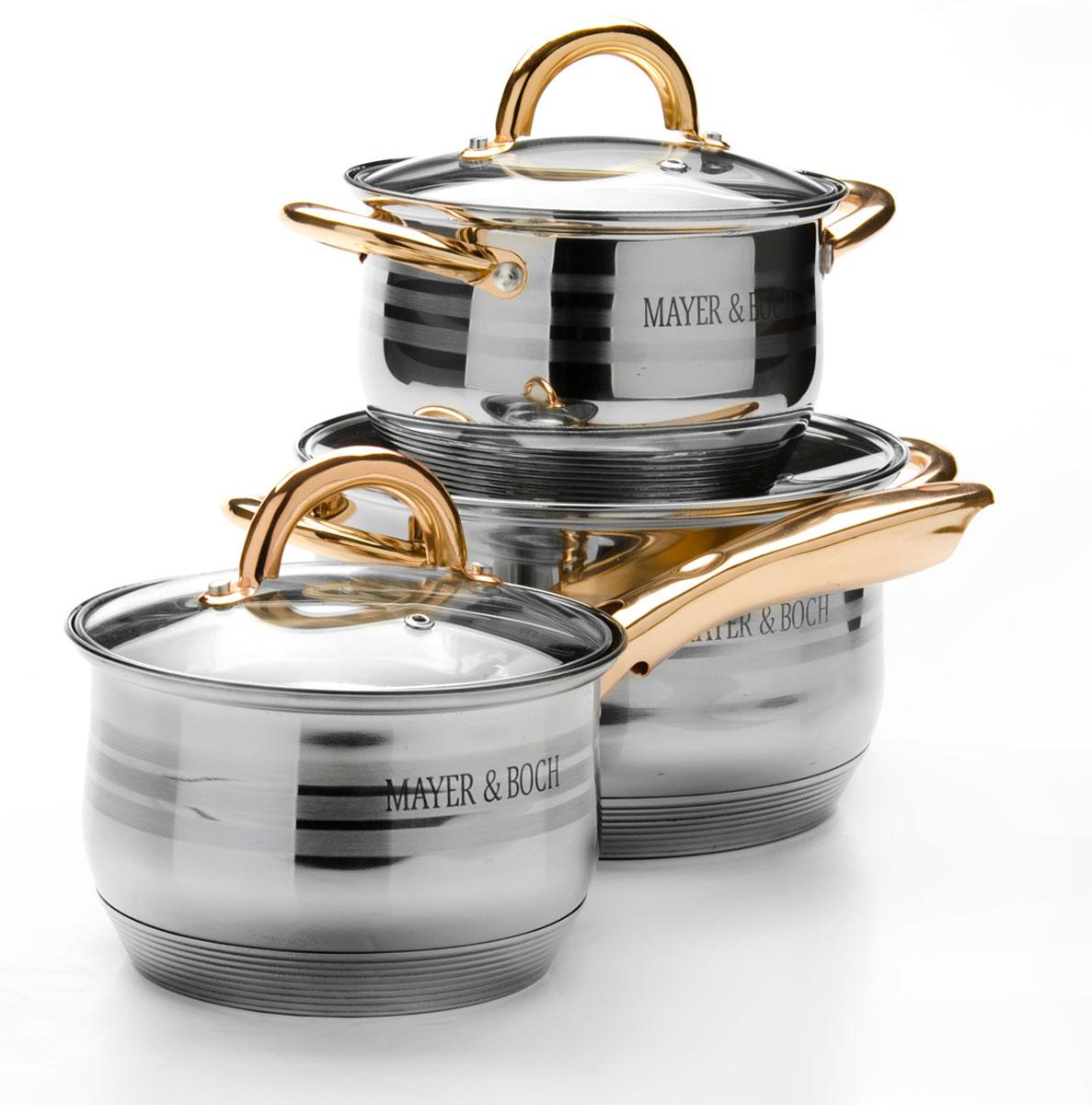 Набор посуды Mayer & Boch, 6 предметов. 25669256692,1+2,1+3,9л
