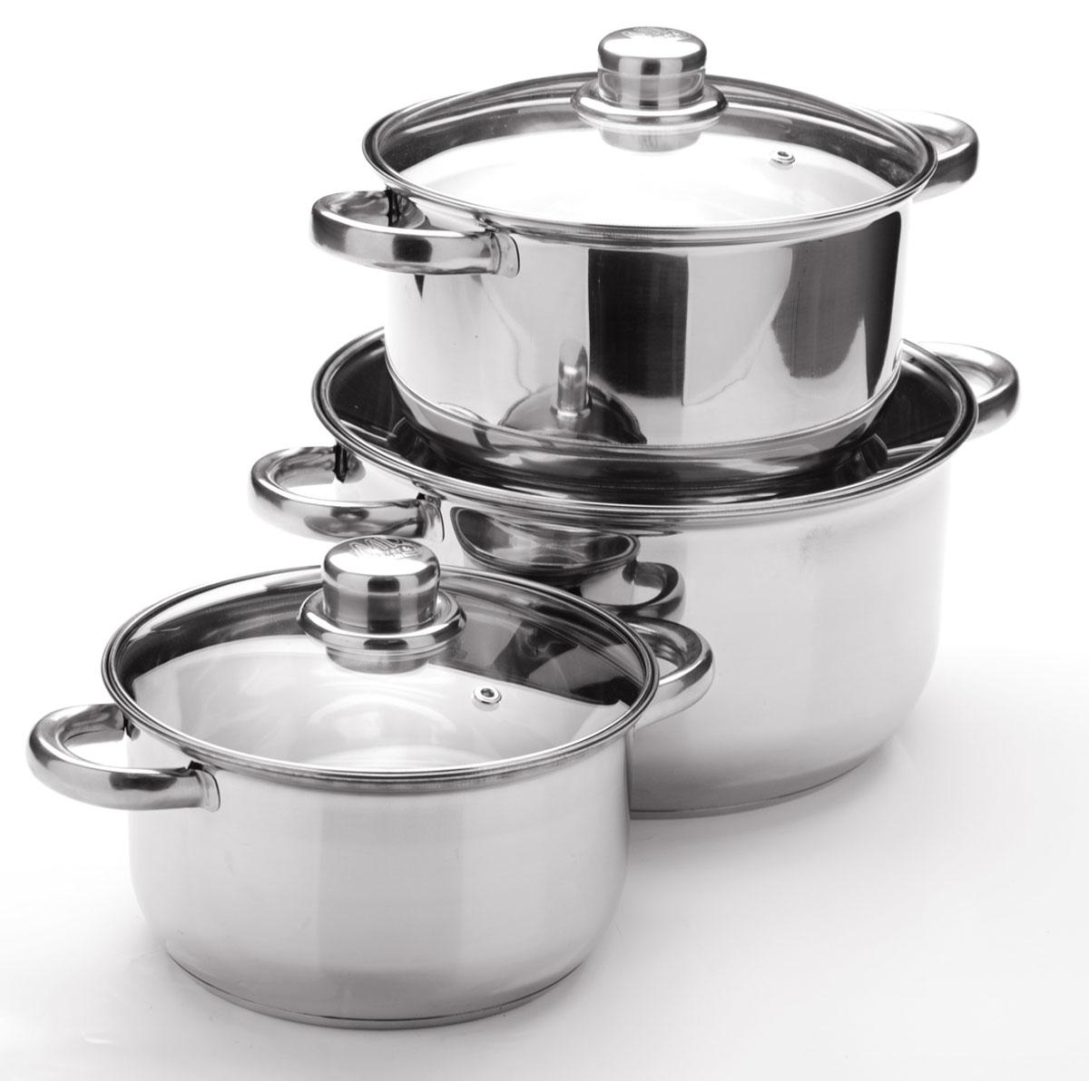 Набор посуды Mayer & Boch, 6 предметов. 25753257532+2,9+4,9л