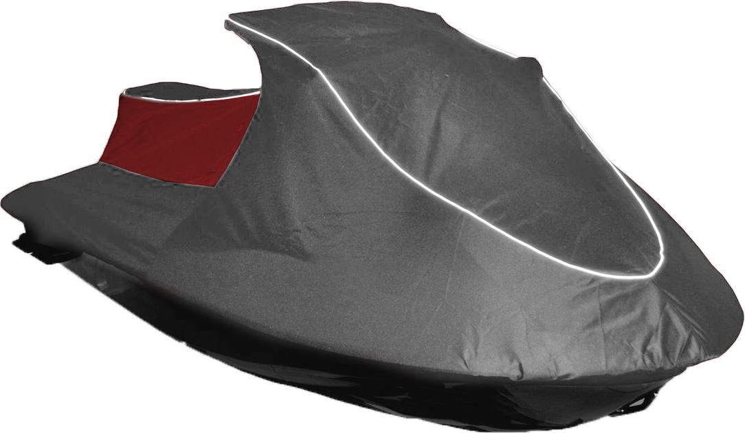 Чехол AG-brand, для гидроцикла Yamaha VX Standart 2014, цвет: серый, красныйAG-YAM-WV-VXSt14-TC_серый, красныйЧехол AG-brand предназначен для хранения и транспортировки гидроцикла Yamaha VX Standart 2014. Он изготовлен из высокопрочной плотной тентовой ткани с высоким показателем водоупорности. По нижней кромке чехла вшита плотная резинка, обеспечивающая надежную фиксацию на гидроцикле. Чехол имеет светоотражающий кант. В комплект транспортировочного чехла входит прочная текстильная стропа для крепления техники в прицепе или специальном боксе для перевозки. Чтобы любое транспортное средство служило долгие годы, необходимо не только соблюдать все правила его эксплуатации, но и правильно его хранить. Негативное влияние на состояние техники оказывают прямые солнечные лучи, влага, пыль, которые не только могут вызвать коррозию внешних металлических поверхностей, но и вывести из строя внутренние механизмы транспортных средств. Необходимо создать условия для снижения воздействия этих негативных факторов. Именно для этого и предназначены чехлы. Сумка для...
