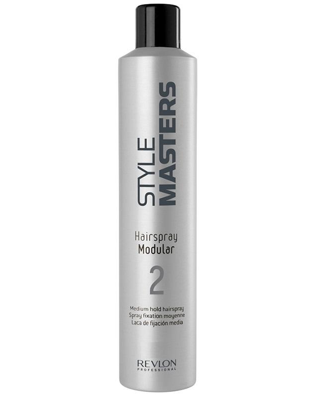 Revlon Professional SM Hairspray Modular - Лак средней фиксации 75 мл6108909000Лак средней фиксации Hairspray Modular от Revlon Professional – прекрасное средство для создания причёсок различной степени фиксации. Укладки средней и сильной фиксации формируются, в зависимости от количества наносимого средства. «Хэйрспрей Модулар» не склеивает волосы, сохраняет их естественную лёгкость и гибкость, усиливает природный блеск. С волос средство легко удаляется даже без мытья при помощи простого расчёсывания.