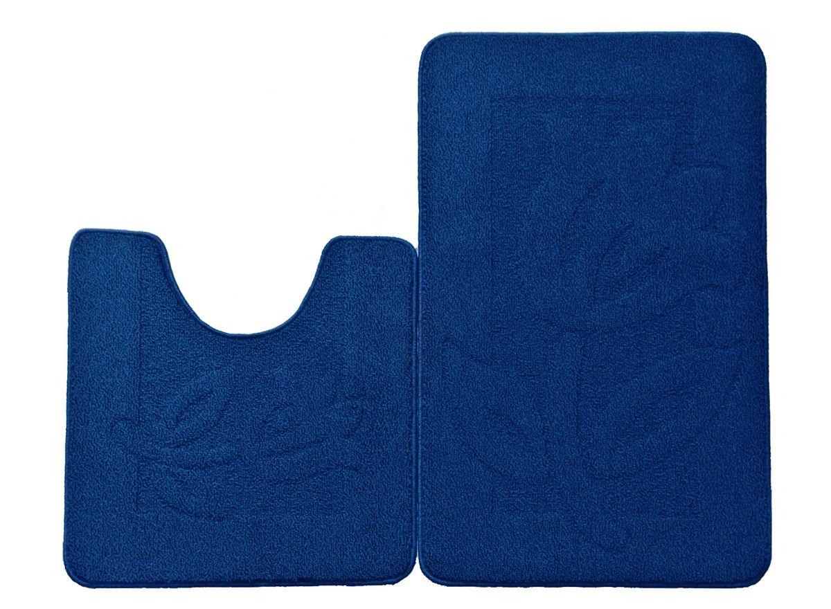 Набор ковриков для ванной комнаты Kamalak Tekstil, цвет: голубой, 2 штУКВ-1026Ковры-паласы выполнены из полипропилена. Ковры обладают хорошими показателями теплостойкости и шумоизоляции. Являются гиппоалергенными. За счет невысокого ворса ковры легко чистить. Вам придется по душе широкая гамма цветов и возможность гармонично оформить интерьер. Практичный и устойчивый к износу ворс - от постоянного хождения не истирается, не накапливает статическое электричество. Структура волокна в полипропиленовых моделях гладкая, поэтому грязь не может выесться, на ворсе она скапливается с трудом. Полипропилен не впитывает влагу, отталкивает водянистые пятна. Уход: Самый простой способ избавить изделие от грязи – пропылесосить его с обеих сторон (лицевой и изнаночной). Влажная уборка с применением шампуней и моющих средств не противопоказана. Если шерсти и шёлку универсальные чистящие составы не подходят, то для синтетики они придутся в самый раз. Хранить их нужно рулоном, не складывая «салфеткой». При надлежащем уходе синтетический ковёр прослужит долго, не утратив ни...