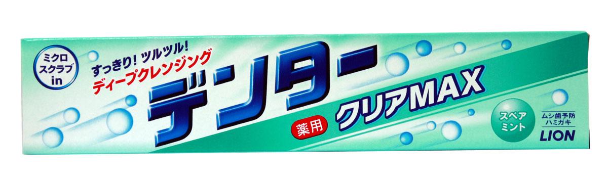 Lion Зубная паста Dentor Clear Max 140 гр. 4903301186465