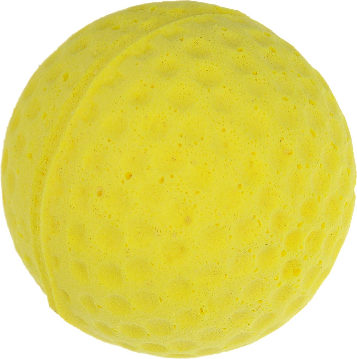 Игрушка для животных Каскад Мячик зефирный. Гольф, цвет: желтый, диаметр 4 см27799306_желтыйМягкая игрушка для животных Каскад Мячик зефирный. Гольф изготовлена из вспененного полимера. Такая игрушка порадует вашего любимца, а вам доставит массу приятных эмоций, ведь наблюдать за игрой всегда интересно и приятно. Диаметр игрушки: 4 см.