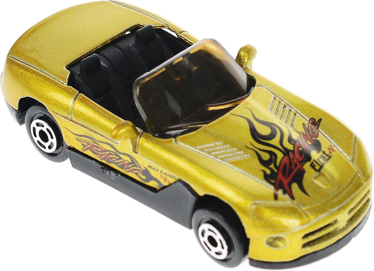 Big Motors Машинка цвет золотистый
