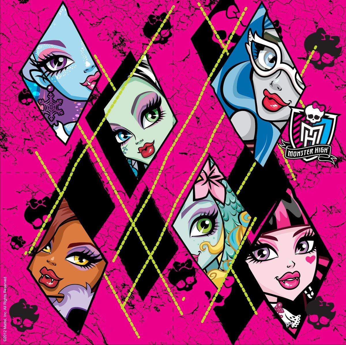Monster High Набор салфеток 20 шт