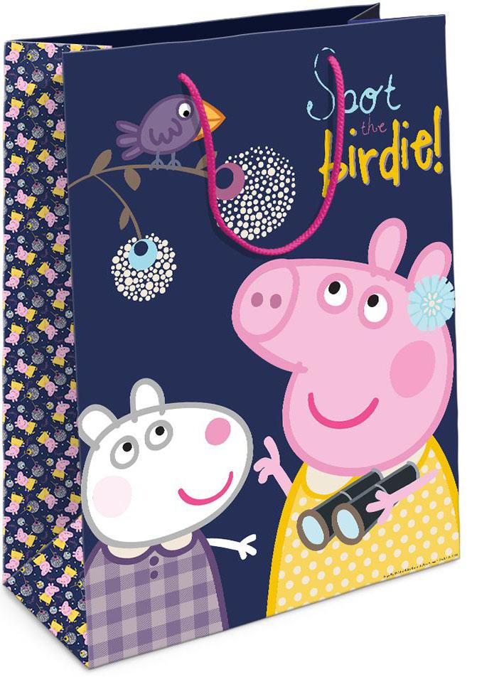 Peppa Pig Пакет подарочный Пеппа и птица