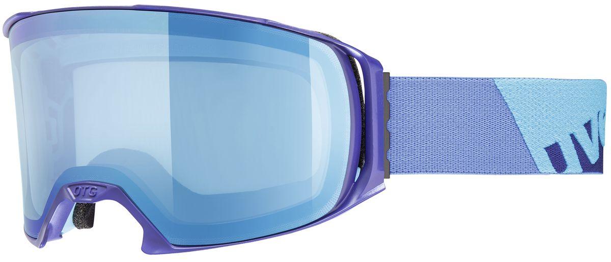 Маска горнолыжная Uvex Craxx OTG, цвет: синий1629-4026Маска для зимних видов спорта Uvex Craxx Otg. Для катания в облачную погоду или при искусственном освещении. Делает картинку более контрастной и четкой. 100 % защита UVA, -B, -C, двойные поликарбонатные линзы, уникальное покрытие Supravision защищает от запотевания. Возможно использование поверх оптических очков. Сделано в Германии. Погодные условия Облачно, туман, искусственное освещение Защита от УФ Да Поляризация Нет Вентиляция Да Покрытие анти-фог Да Совместимость со шлемом Да Сменная линза Нет Материал линзы Поликарбонат Материал оправы Полиуретан Конструкция линзы Двойная Форма линзы Цилиндрическая Возможность замены линзы Да