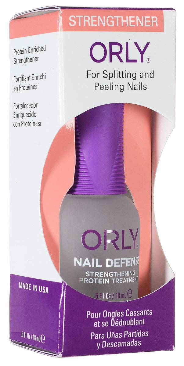 Orly Покрытие для слоящихся ногтей Nail Defense, 18 мл24420Обогащенная белком формула покрытия Orly Nail Defense обеспечивает защиту и укрепление ногтевой пластины. Стимулирует рост крепких ногтей, предотвращая их расслаивание. Протеин, который входит в состав препарата, осуществляет склеивание чешуек ногтей между собой, а также запечатывание свободного края для предотвращения его расслаивания. Способ применения : если ногти слоятся очень сильно, то первые 2 недели наносить через день послойно. В дальнейшем использовать как базу и верхнее покрытие в течение 2-3 месяцев. Характеристики: Объем: 18 мл. Артикул: 44420. Производитель: США. Товар сертифицирован. Состав: этилацетат, бутилацетат, нитроцеллюлоза, SDА-40В, гептан, изопропил, пропилацетат, гликолевый сополимер, этилтосиламид, триметил пентанил диизобутират, камфара, бензофенон-1, диметикон, поливинил бутирал, токоферил ацетат (витамин А), сафлоровое масло, экстракт мелиссы, экстракт конского...