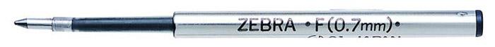 Zebra Стержень для шариковых ручек F черный310 106010Поддерживаемые модели ручек: F301, F301 Ultra, F301 Compact, F701, ZEBRA 710, SLIDE, AIRFIT 500, Mini 300 Толщина пишущего узла: 0.7 мм Длина письма: 1100-1250 м