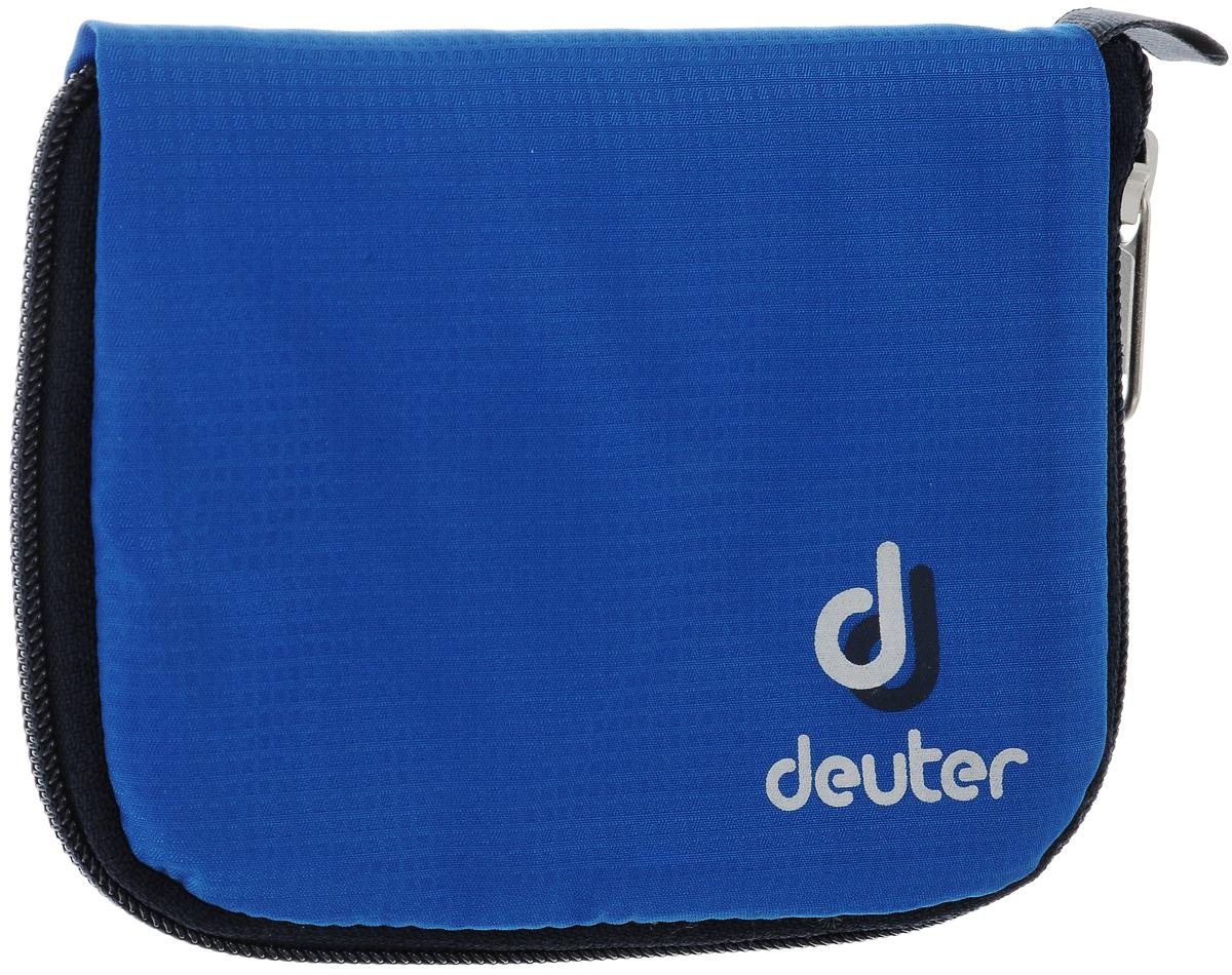 Кошелек спортивный Deuter Zip Wallet Bay, цвет: голубой95735-924Спортивный кошелек Deuter Zip Wallet Bay - настоящая находка для любителей спорта.Кошелек мягкийи прочный, имеет молнию по кругу, удлиненное отделение для банкнот и три отделения для карт. Так же на молнию застегиваются отделения для мелочи и банкнот. Петля для подвески не даст Вам его потерять.Размер: 10,5 х 14 см.Состав: полиамид, нейлон.