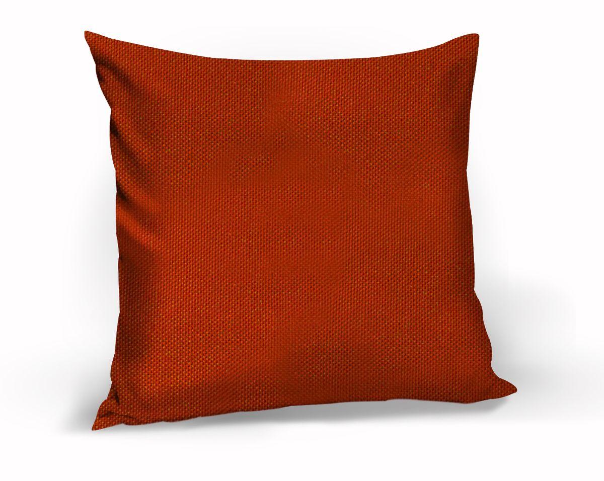 Подушка декоративная KauffOrt Комо, цвет: красный, 40 x 40 см96515412Декоративная подушка Комо прекрасно дополнит интерьер спальни или гостиной. Чехол подушки выполнен из лонеты. Внутри находится мягкий наполнитель. Чехол легко снимается благодаря потайной молнии.