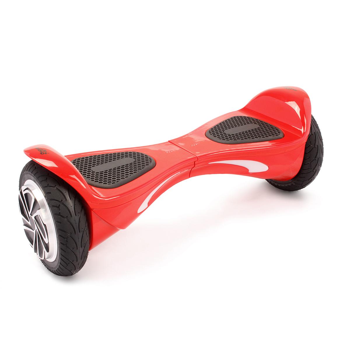 """Гироскутер Hoverbot B-2 (A-9), цвет: красныйGB2RDГироскутер Hoverbot B-2 имеет высокий клиренс и спортивный корпус – он выглядит очень эргономично и современно. Не смотря на высокую посадку, гироборд уверенно стоит на широких 8"""" колёсах, которые отлично справляются со своей задачей – уверенно держать дорогу на высокой скорости. Он не только быстро разгоняется, но и хорошо оттормаживается, не зависимо от веса пользователя или дорожных условий. Очень резвая модель B-2 моментально откликается на изменение в управлении и быстро подстраивается под индивидуальные запросы райдера. Покупая гироборд Hoverbot B-2 вы приобретаете не только отличное средство передвижение, но также незаменимого и верного спутника, который скрасит ваше времяпрепровождение отличной музыкой через встроенные динамики в корпусе борда. Музыка передаётся через Bluetooth устройство на любом из ваших гаджетов. Данная модель подойдёт опытным пользователям. В комплект входит зарядное устройство. Технические характеристики. Цвета: black, blue, red. Возможная дистанция: 15..."""