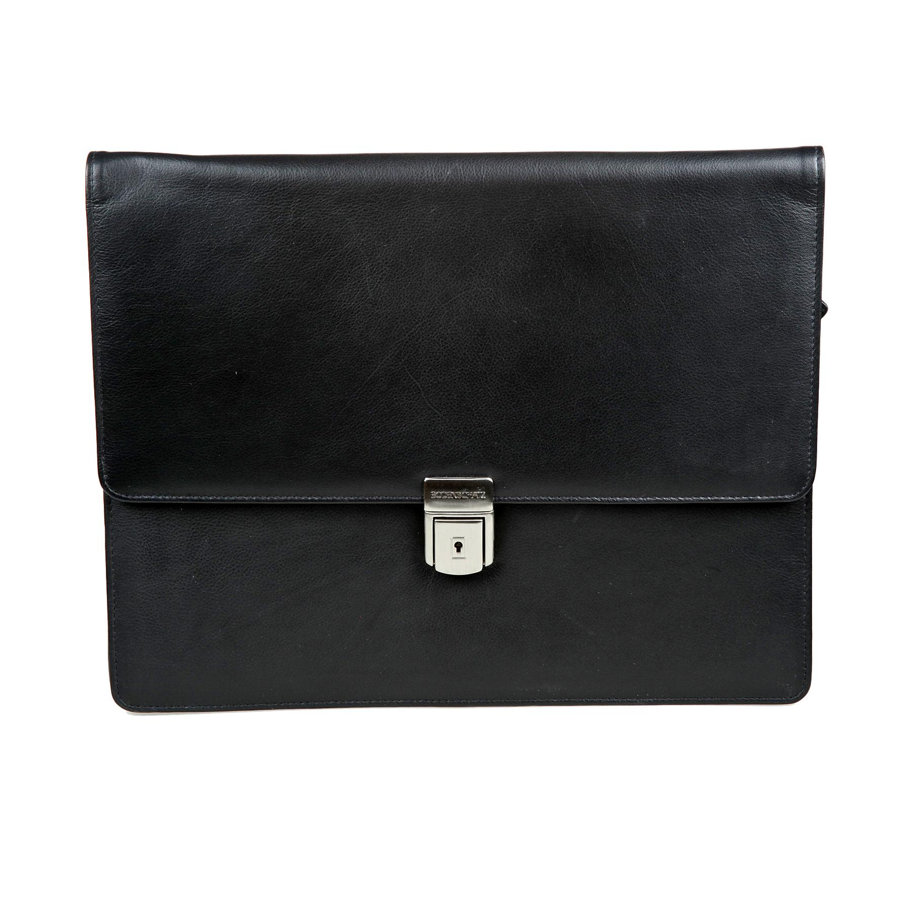 Папка мужская Bodenschatz, цвет: черный. 8-643 black барсетка мужская bodenschatz цвет черный 8 427 01
